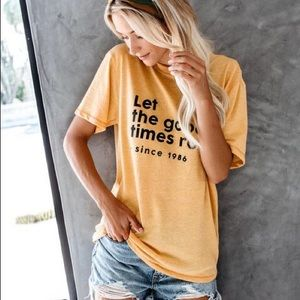 Vici Collection Let the Good Times Roll Tee